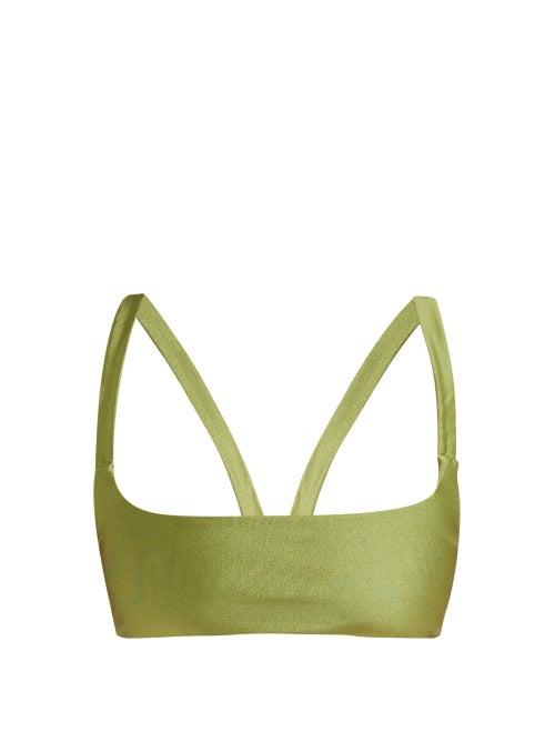Jade Swim Revel Square Neck Bikini Top OnceOff