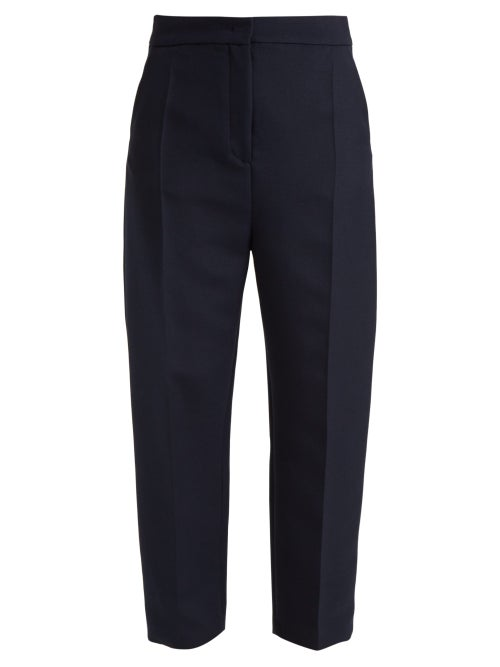 Joseph Haim Wool Blend Twill Trousers OnceOff