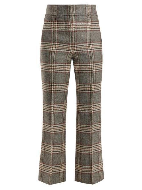 Joseph Ridge Checked Wool Trousers OnceOff