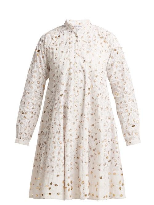 Juliet Dunn Leaf Print Cotton Jacket OnceOff