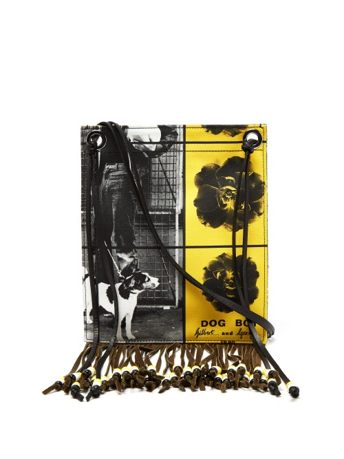 Jw Anderson X Gilbert & George Print Canvas Bag OnceOff