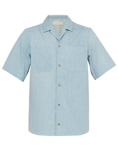 King & Tuckfield Short Sleeved Denim Shirt OnceOff
