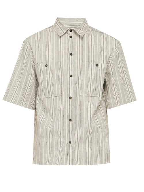 King & Tuckfield Striped Cotton Shirt OnceOff