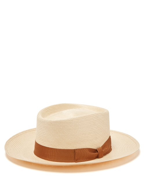 Lock & Co. Hatters Sicily Panama Woven Straw Hat OnceOff