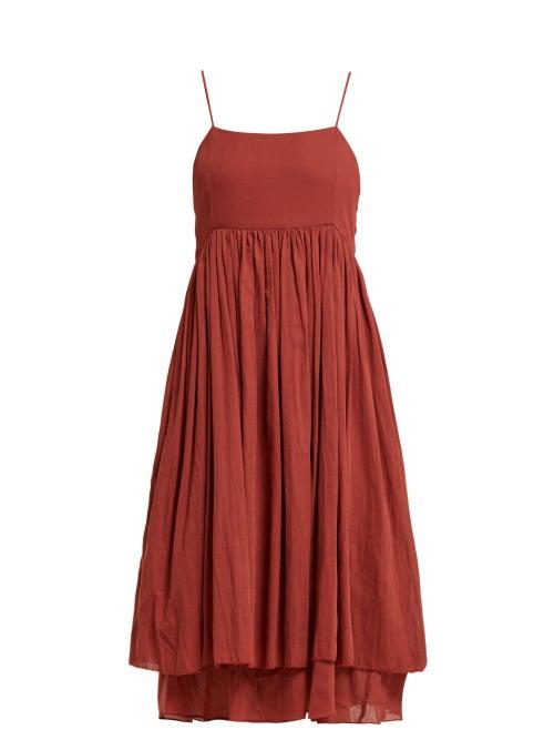Loup Charmant Lily Strap Cotton Midi Dress OnceOff