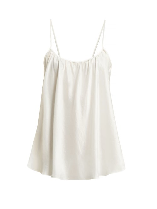 Loup Charmant Scoop Neck Silk Tank Top OnceOff
