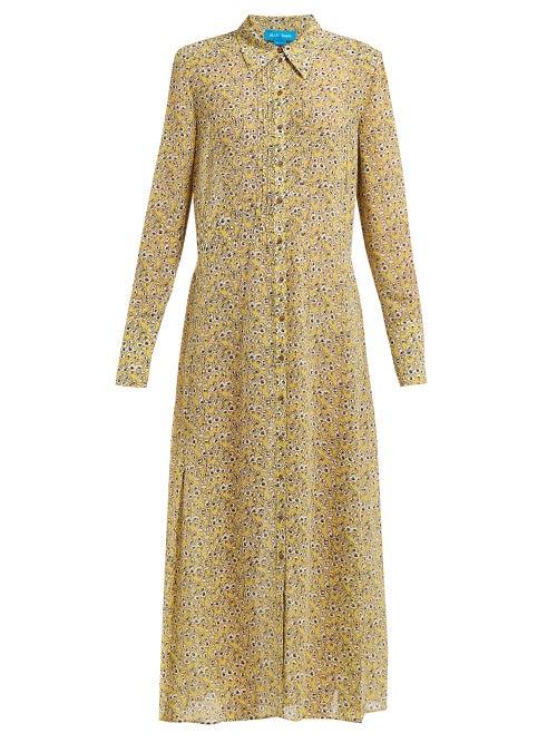 M.I.H Jeans Maggie Floral Print Silk Dress OnceOff