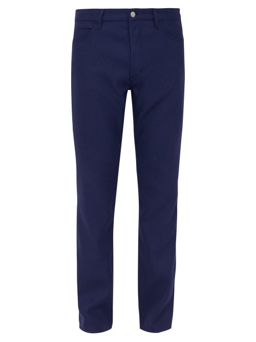 Maison Margiela Mid Rise Twill Trousers OnceOff