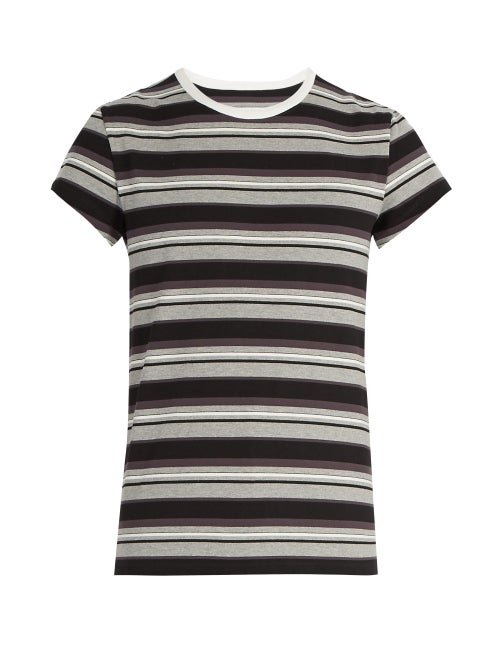 Maison Margiela Striped Cotton Jersey T Shirt OnceOff