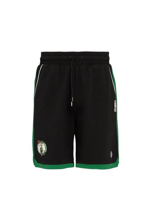 Marcelo Burlon Black Boston Celtics Basketball Shorts OnceOff