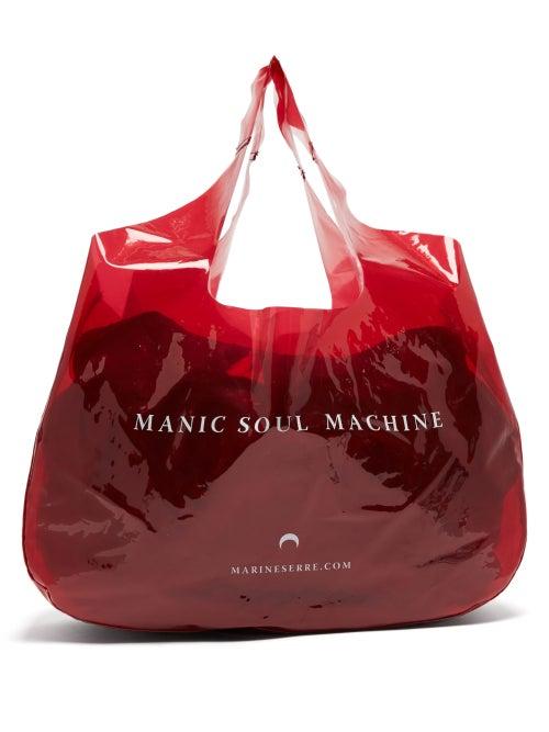 Marine Serre Printed Pvc Tote Bag OnceOff