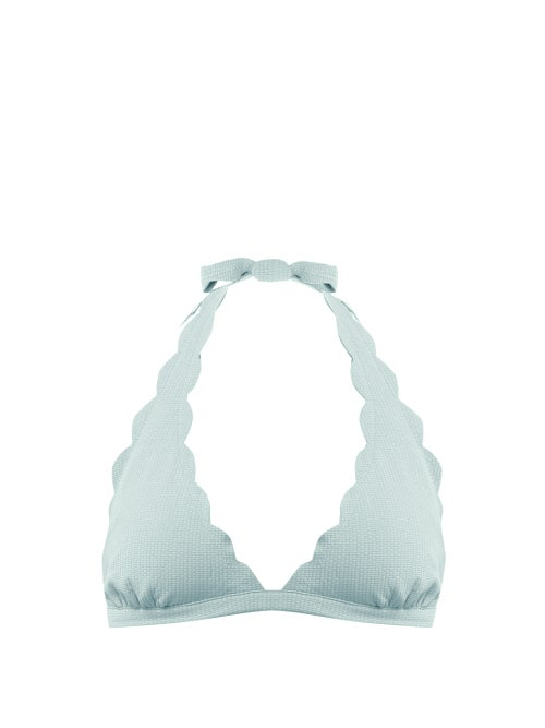 Marysia Spring Scallop Edged Bikini Top OnceOff