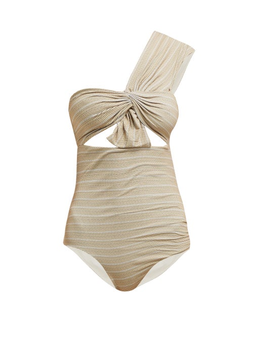 Marysia Venice One Shoulder Cut Out Swimsuit OnceOff