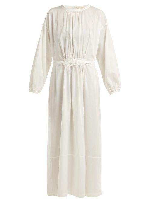 Matteau The Long Sleeve Split Cotton Dress OnceOff