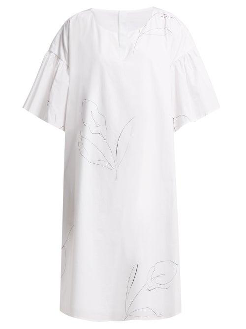 Merlette Cambridge Print Cotton Poplin Dress OnceOff