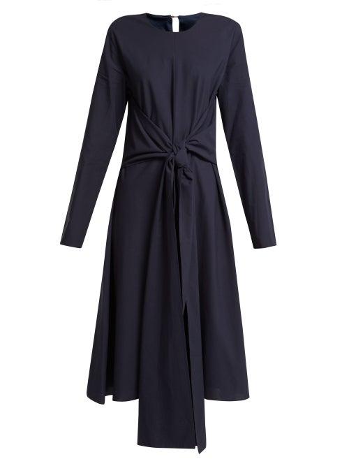 Merlette Kiakora Tie Front Cotton Dress OnceOff