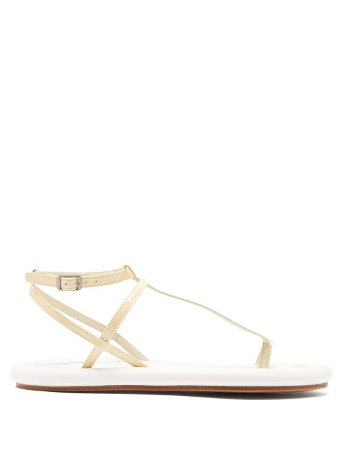 Mm6 Maison Margiela Padded Sole Leather Sandals OnceOff