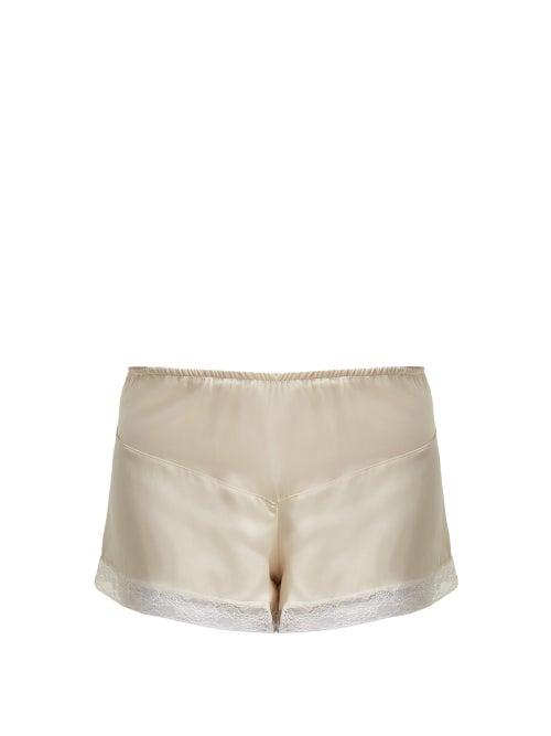 Morpho + Luna Bina Silk Pyjama Shorts OnceOff