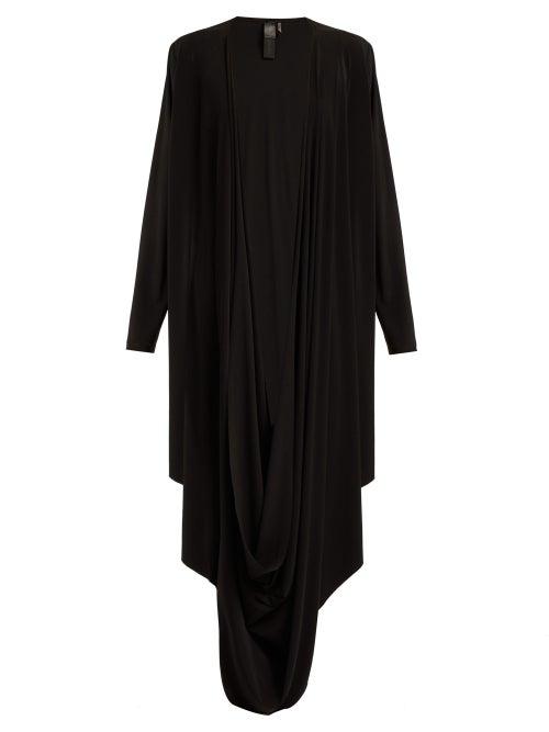 Norma Kamali Draped Jersey Cardigan OnceOff