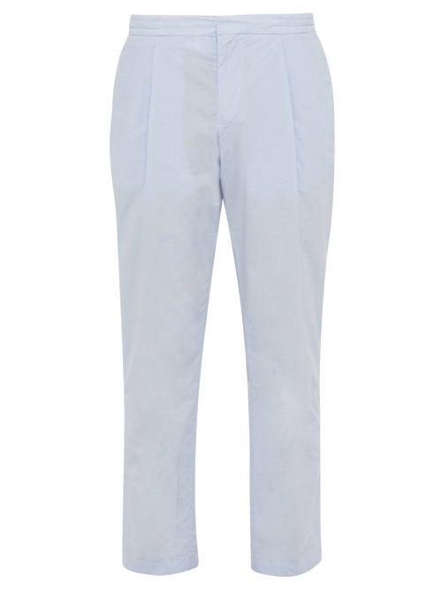Officine Générale Drew Cotton Poplin Trousers OnceOff