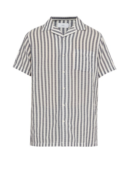 Onia Vacation Striped Shirt OnceOff