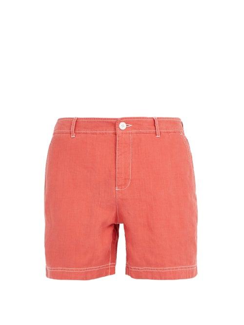 Orlebar Brown Raine Linen Shorts OnceOff