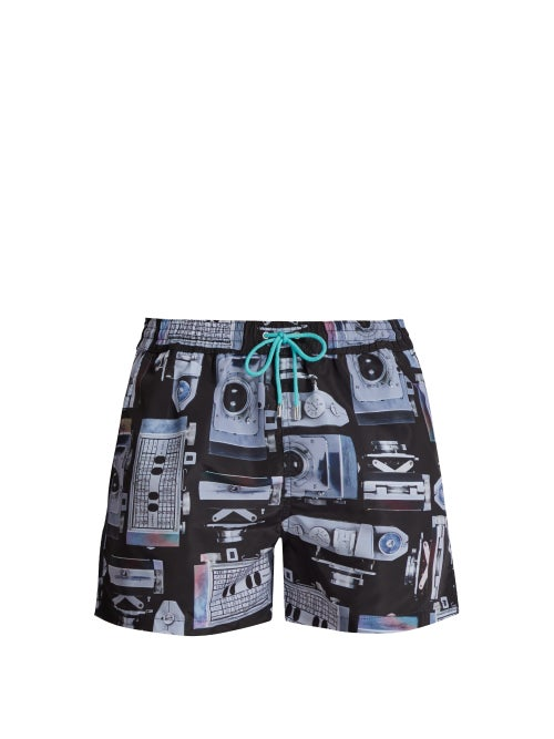 Paul Smith Camera Print Quick Drying Swim Shorts OnceOff