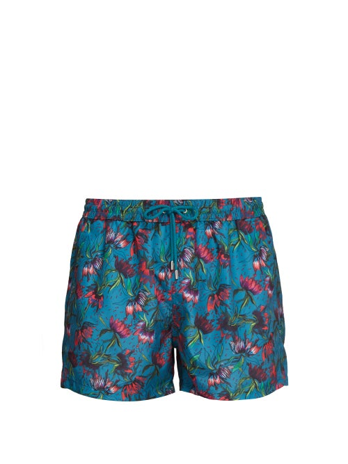 Paul Smith Floral Print Swim Shorts OnceOff