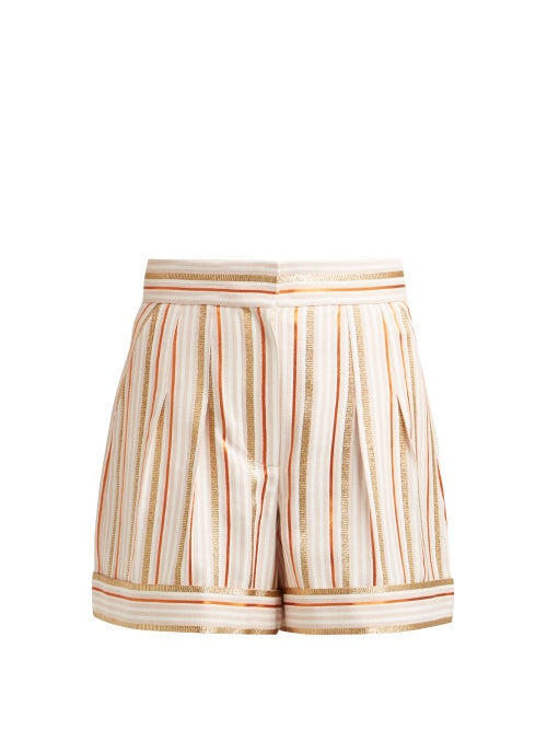 Peter Pilotto High Rise Striped Shorts OnceOff