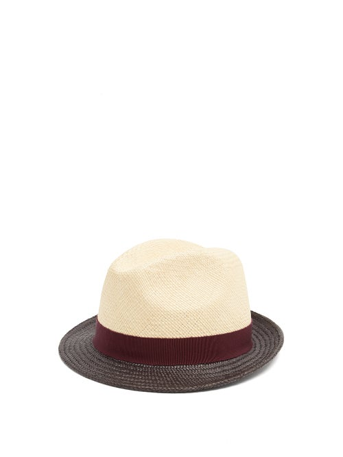 Prada Tri Colour Straw Hat OnceOff