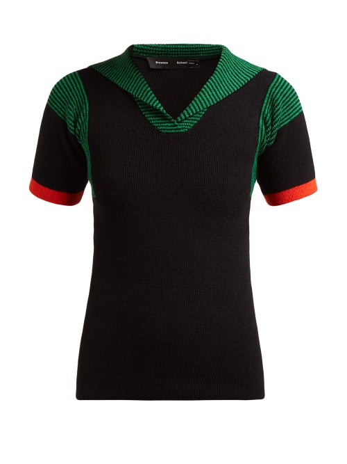 Proenza Schouler Ribbed Cotton Blend Sweater OnceOff