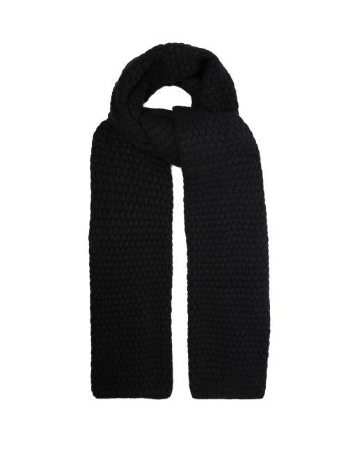 Raey Bubble Knit Cashmere Scarf OnceOff