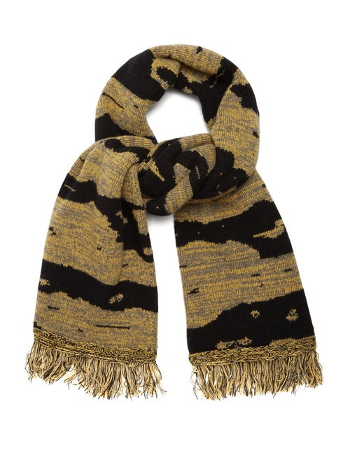 Raey Football Space Dyed Wool Scarf OnceOff