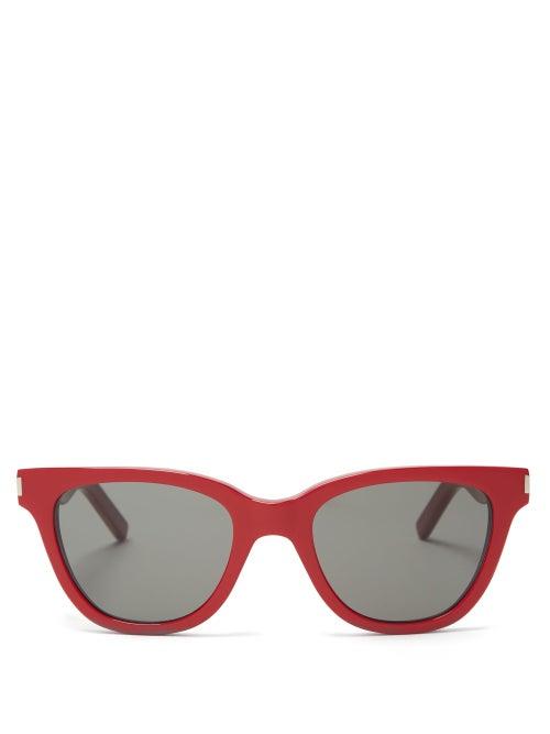 Saint Laurent Classic Square Frame Acetate Sunglasses OnceOff
