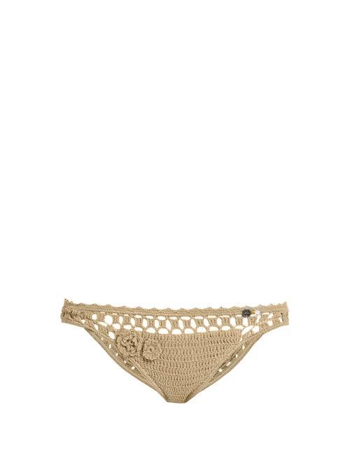 She Made Me Jannah Cheeky Crochet Bikini Briefs OnceOff