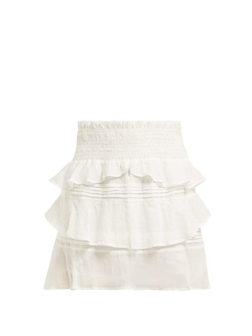 Sir Aurelie Cotton Blend Mini Skirt OnceOff