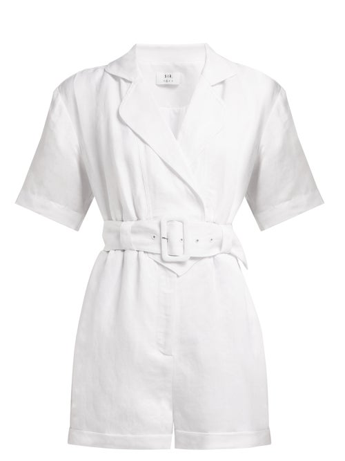 Sir Dalila Linen Blend Playsuit OnceOff