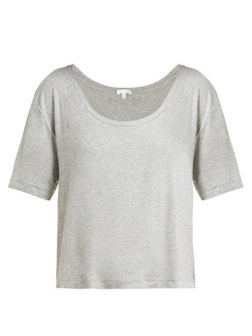 Skin Luisa Scoop Neck Jersey T Shirt OnceOff