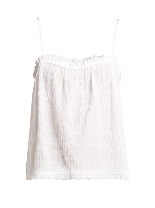 Skin Nadira Textured Cotton Top OnceOff