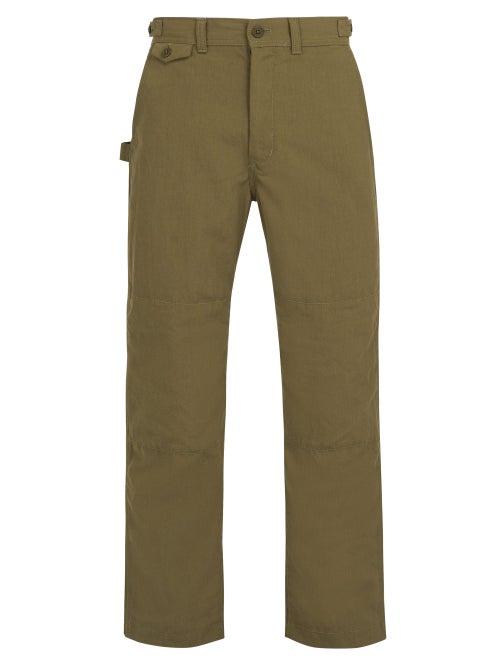 Snow Peak Takibi Cotton Blend Ripstop Trousers OnceOff