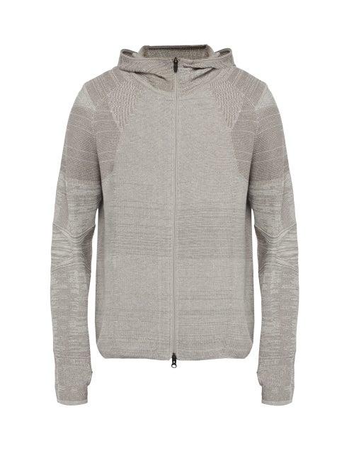 Snow Peak Zip Up Panelled Hooded Sweatshirt OnceOff