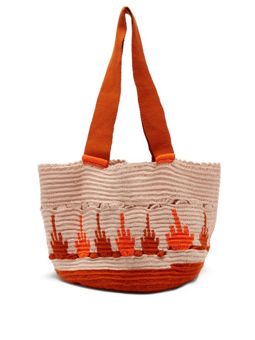 Sophie Anderson Hoyas Woven Tote Bag OnceOff