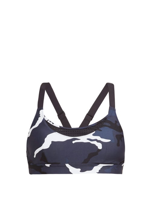 The Upside Marine Kristi Camouflage Medium Impact Sports Bra OnceOff