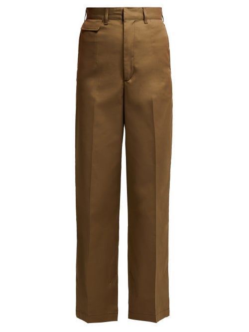 Toga Wide Leg Cotton Blend Trousers OnceOff
